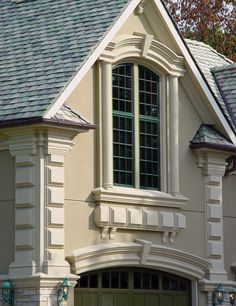 Quoins and stucco google search dream design for Decorative quoins