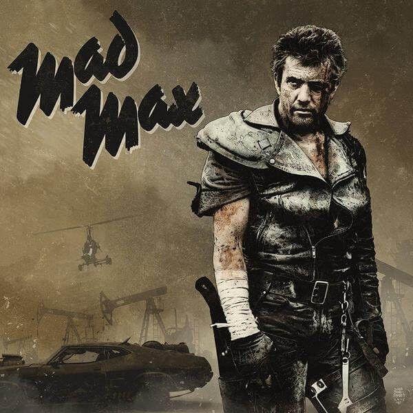 Mad Max Trilogy - Various Artists Vinyl 3LP April 14 2017 Pre-order