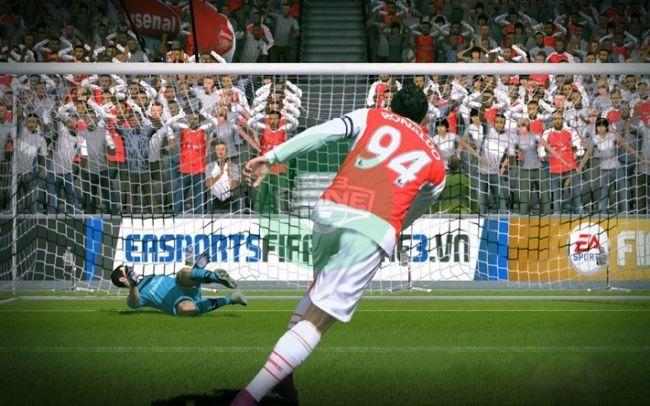 FIFA Online 3: Công thức sút penalty vào góc chữ A