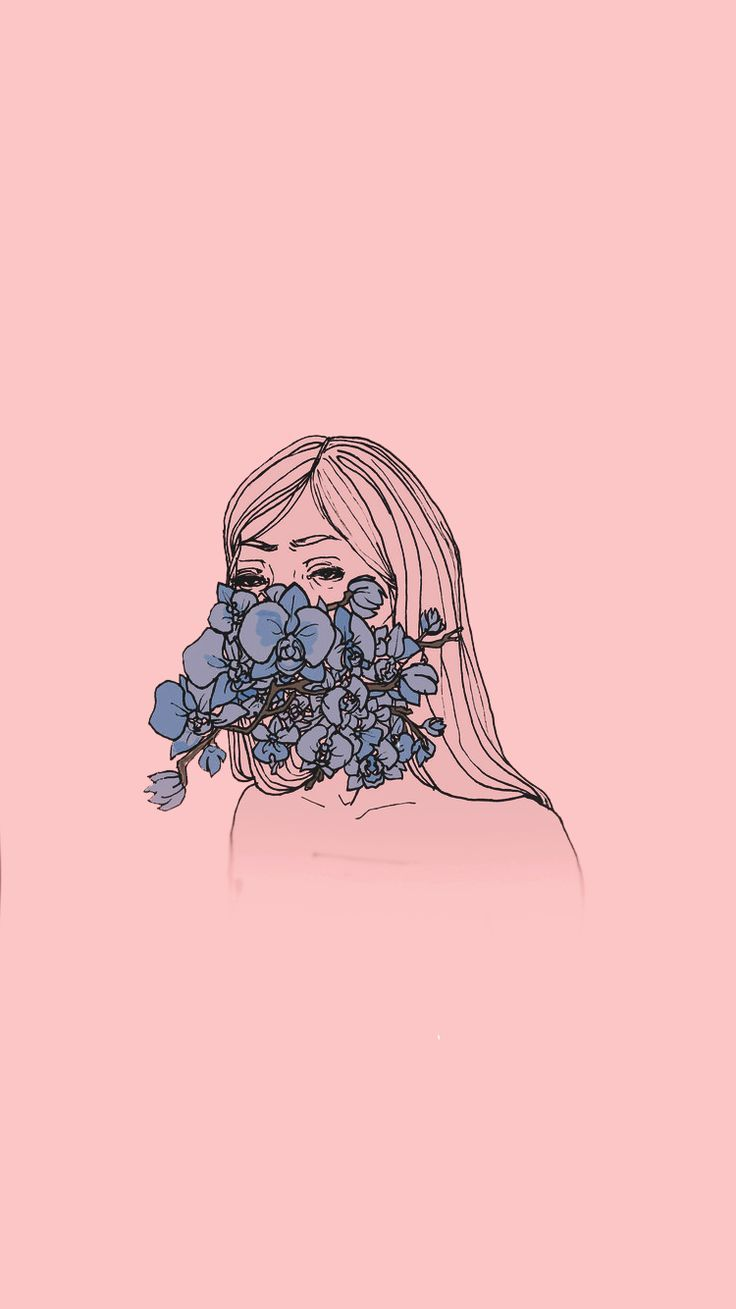Iphone Background Tumblr Backgrounds In 2020 Flower Drawing Tumblr Iphone Backgrounds Tumblr Minimalist Wallpaper
