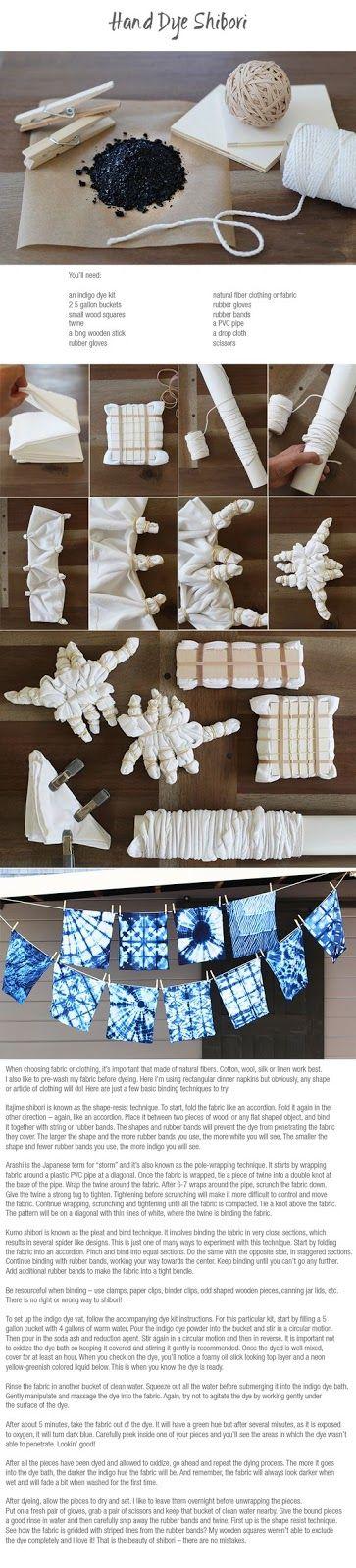 Collettivo Roxland (RdC Creations Italia): Art batik (Shibori- Tie dye)