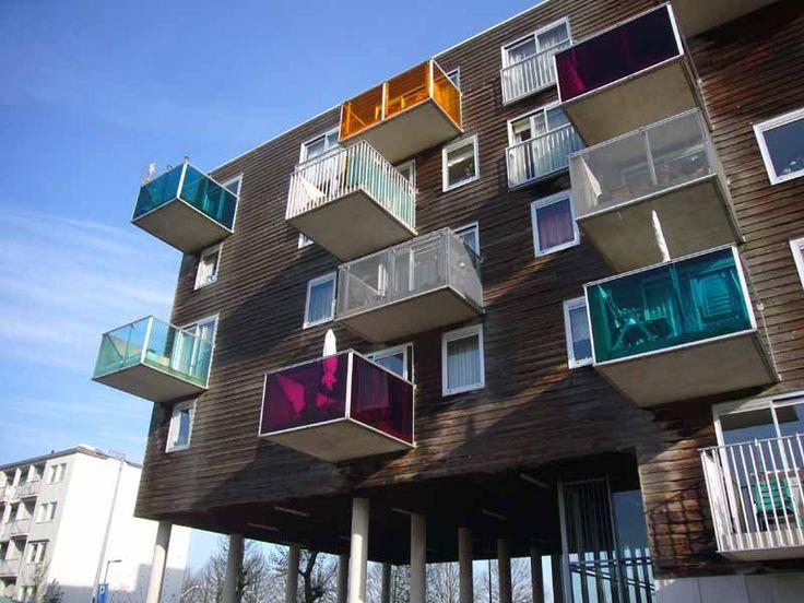 Wozoco Architect, MVRDV, Amsterdam, Netherlands