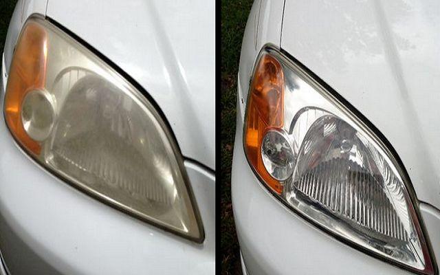 Cómo eliminar el amarillo de los faros del coche en 10 minutos | Bricolaje