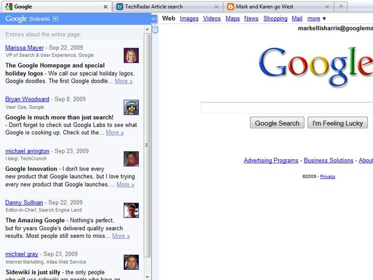 Google adds Sidewiki to Toolbar | Google today announced Sidewiki, a Google Toolbar feature that enables people to tag websites with comments and links Buying advice from the leading technology site