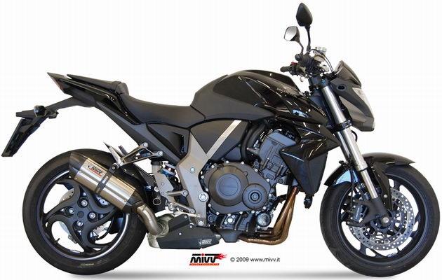 MIVV Suono Slip-on, Stainless/Carbon, for Honda CB 1000 R