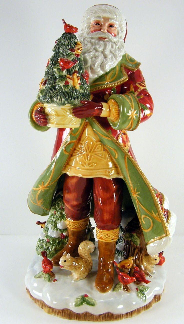 Fitz and Floyd Bellacara Santa Figurine 2008 63 444 | eBay