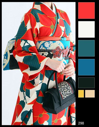 Kimono Colour Schemes