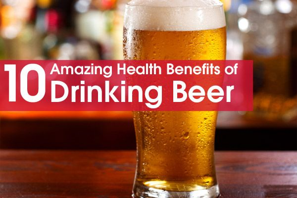 Just like anything in life moderation is the key to health but if you like beer there are many amazing health benefits of drinking beer...JW