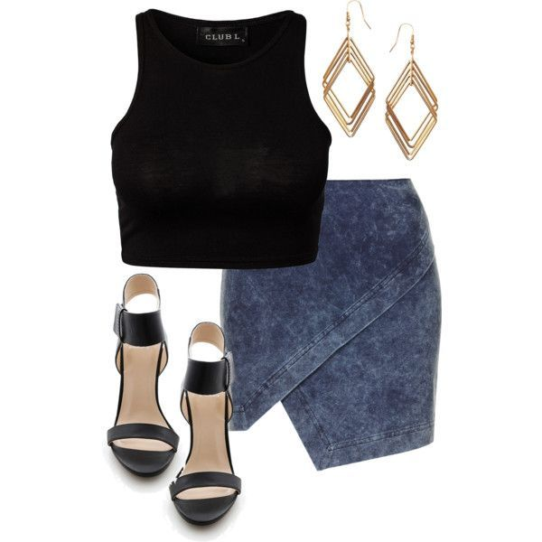 Edgy Hanna Marin inspired rooftop party outfit by liarsstyle on Polyvore featuring polyvore, fashion, style, Topshop, ASOS, NightOut and ss #timetoparty