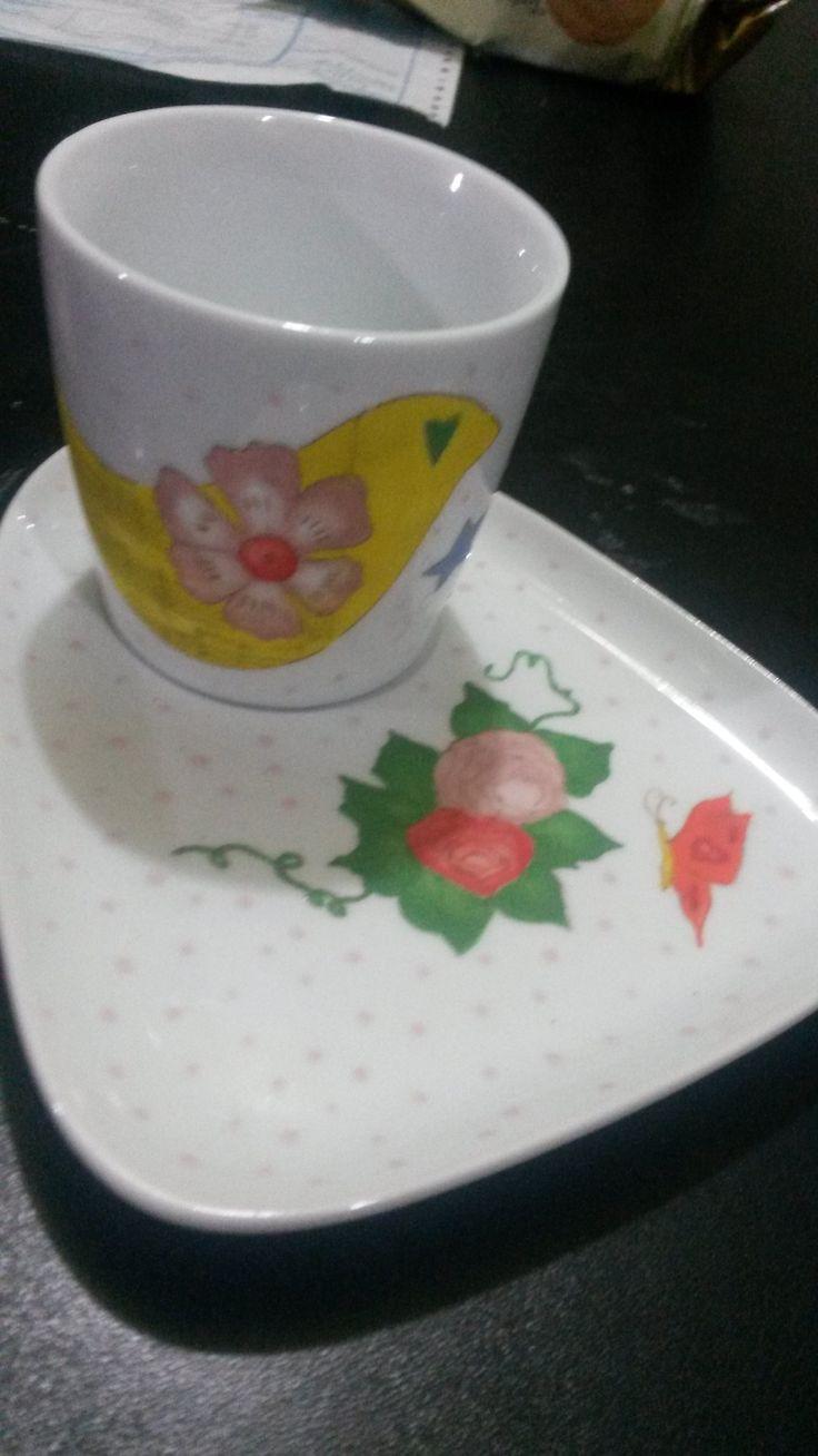 esmaltado en porcelana