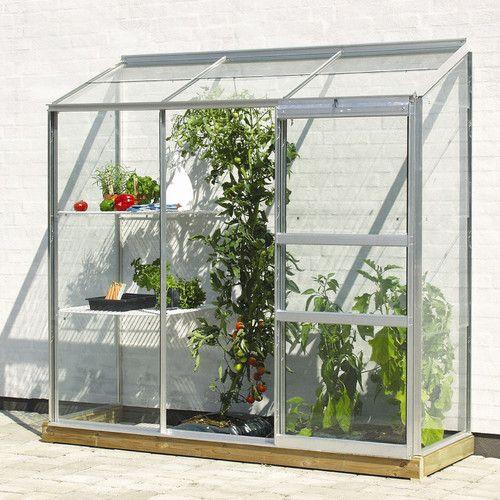 Vitavia Ida Wall Garden 1.9m W x 0.7m D Mini Greenhouse