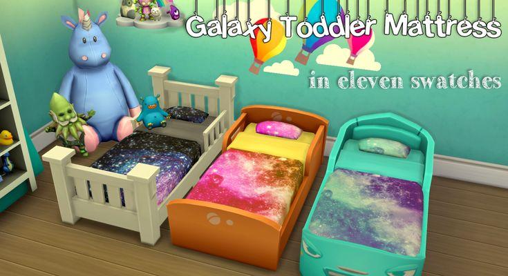 Lana CC Finds - Toddler Mattress Recolors-BlindingEchoes
