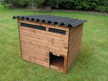 Smallholdershop poultry housing swinford coop our for Building a duck house shelter