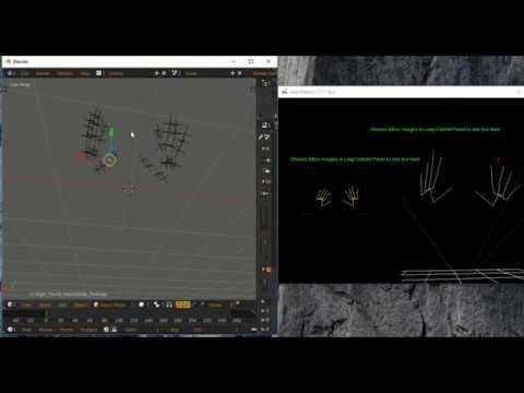 Hands motion capture with Leap motion controller