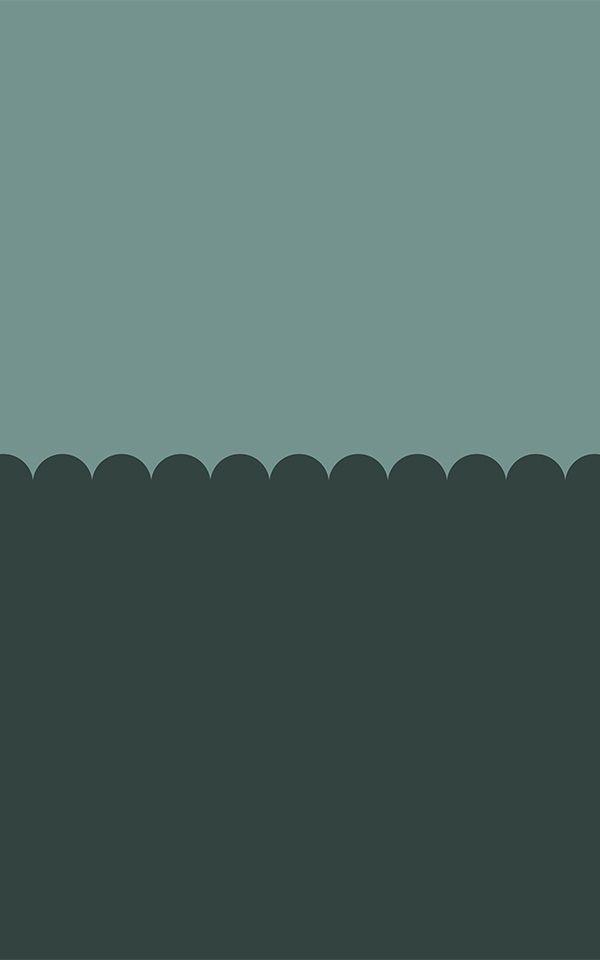 Green Two Tone Color Wallpaper Mural Muralswallpaper Wallpaper Iphone