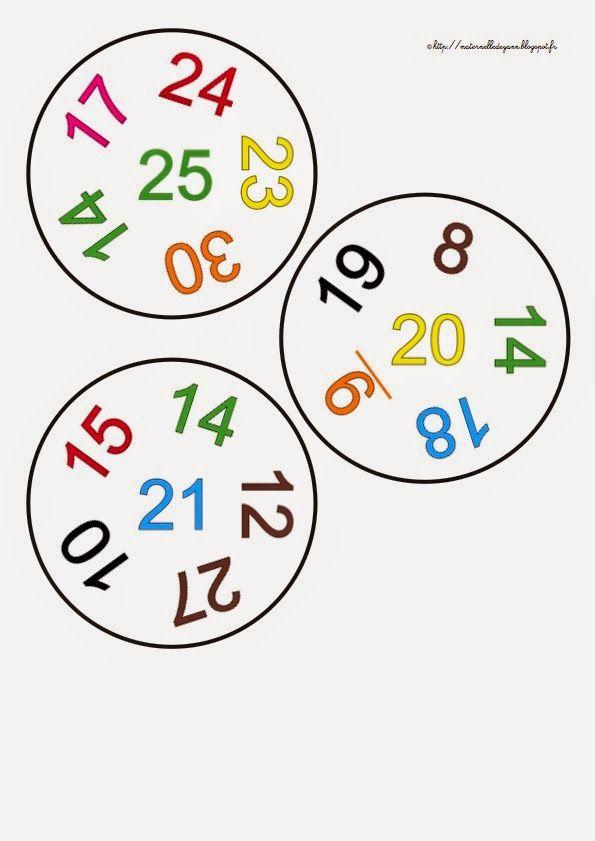 Maternelle et Direction de yann: Petit jeu pour les grandes sections les nombres de 0 à 30