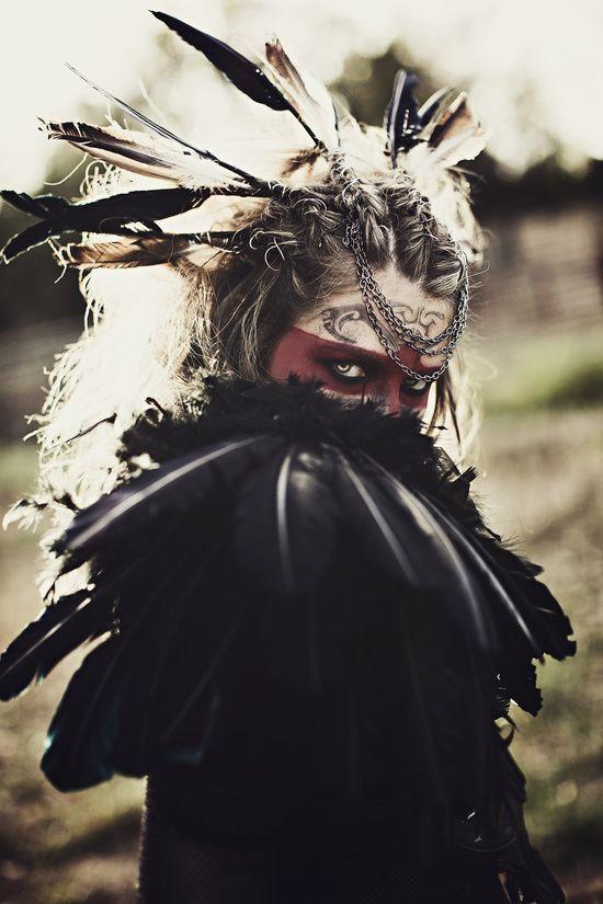 Mad Mary: Crow Art Print