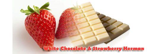 My White Chocolate And Strawberry Herman