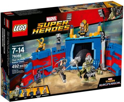 Buy LEGO Super Heroes Thor vs. Hulk: Arena Clash NEW 2017 for R1,439.00