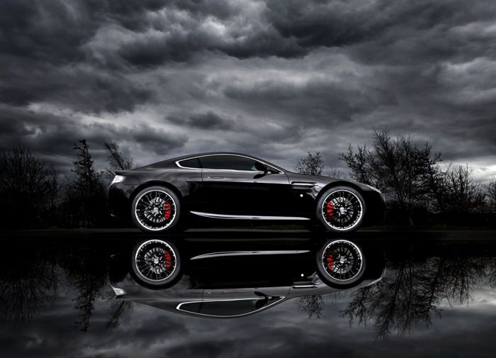 Aston Martin Vantage Black N420  Tim Wallace photo