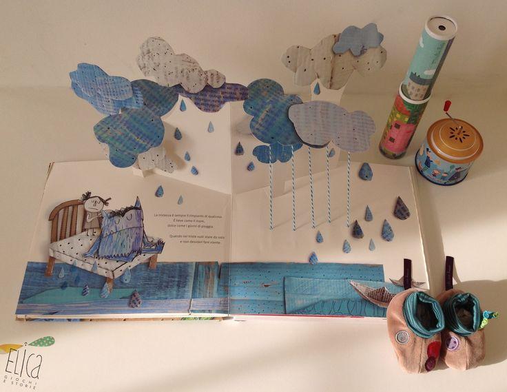 """""""I colori delle emozioni"""", di Anna Llenas, Gribaudo. Libri per bambini, libri pop-up, emozioni e colori. Caleidoscopio, carillon e scarpine Moulin Roty."""