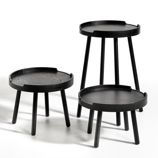 table gigogne la redoute tables gigognes nature bois de. Black Bedroom Furniture Sets. Home Design Ideas