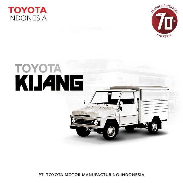 Toyota Kijang merupakan salah satu varian mobil yang populer dan merupakan salah satu model yang diusung oleh Toyota yang melekat di hati masyarakat. Hadir di Indonesia sejak tahun 1977 dan menjadi mobil andalan keluarga Indonesia, dengan berbagai varian dan dapat ditemukan di seluruh pelosok Indonesia #TMMIN #ToyotaIndonesia #Toyota #Manufacturing #Car #Industry