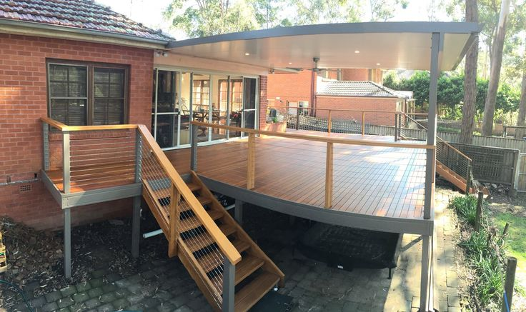 Deck renovation by JGC Construction in Quakers Hill