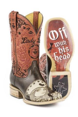 Tin Haul Queen Of Hearts Boots Urban Western Wear