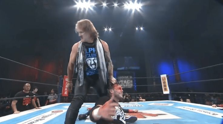 Chris Jericho brutally attacked (and bloodied) Kenny Omega at NJPW World Tag League show | Wrestling News  ||  Chris Jericho brutally attacked (and bloodied) Kenny Omega at NJPW World Tag League show  By Comment  The match between Alpha and Omega was already set for Wrestle Kingdom 12, but now it's officially on now.  As you can see on the clip below, Kenny Omega had just competed…