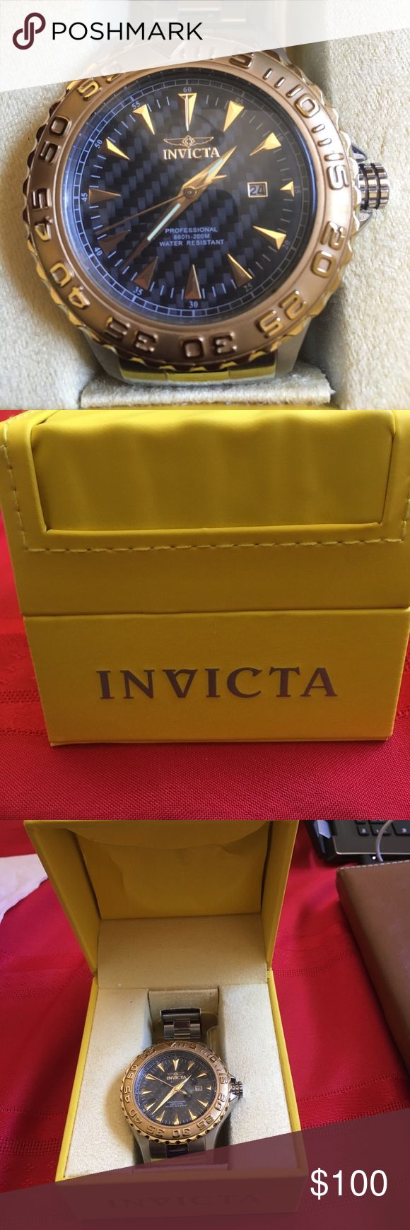 Invicta Men's Watch This is an Invicta Men's Pro Diver Watch and is in great condition. Invicta Accessories Watches