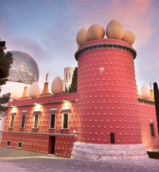 Barcelona, The Dalí Theatre and Museum
