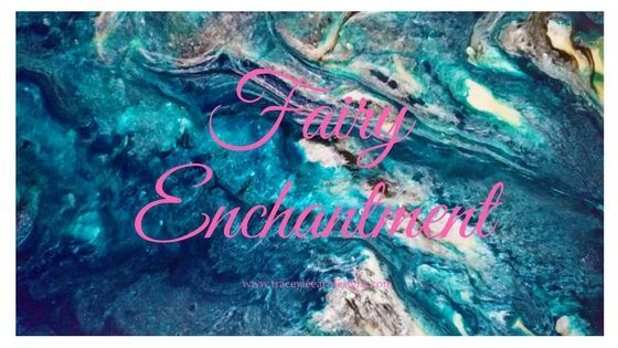 Fairy Enchantment - The story behind the abstract painting by Tracey Everington