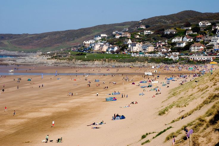 Woolacombe Beach, Devon-- Used to go here a lot when I was growing up.