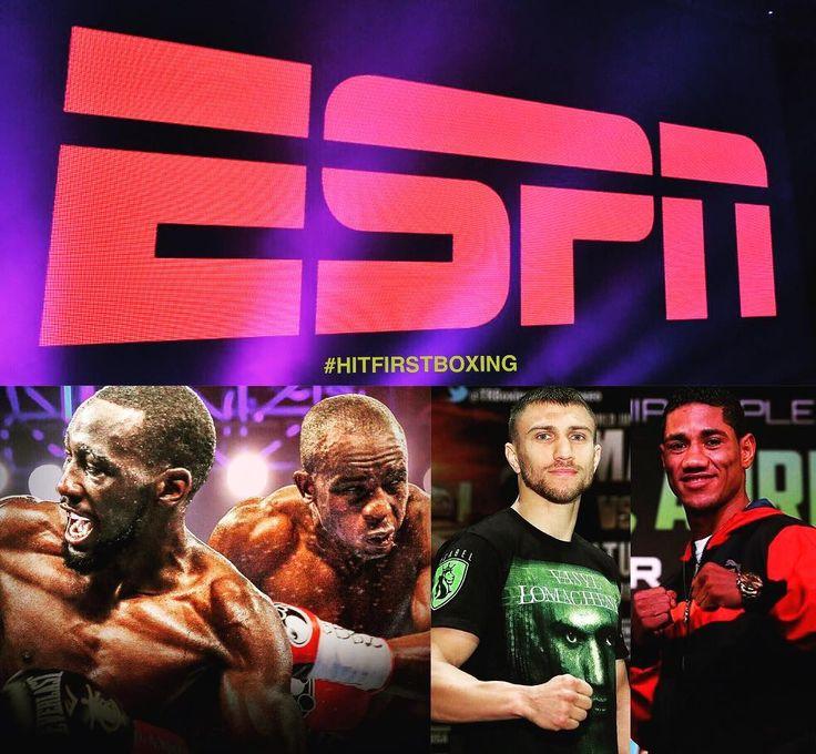 TOP RANK HAS INKED A DEAL WITH ESPN, AUGUST IS A BIG MONTH FOR BOXING @lomachenkovasiliy VS #miguelmarriaga @tbudcrawford vs #juliusindongo #CrawfordIndongo #lomachenkomarriaga @trboxing @espn #ESPN #USA #BOXING #BOKS #BOXEO #BUD #lomachenko #ukraine #NEBRASKA @klimasmanagement #张志磊 #重量级 #拳王 #拳击 #中国 #奥运会 #拳击 #ボクシング  #бокс #боксер #богатство #Татарстан #татнефтьарена #Москва #Мирбокса #МариушВах #семья @eddiehearn @matchroomboxing