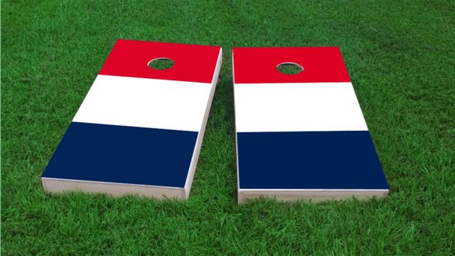 France National Flag Custom Cornhole Boards - Made in #USA