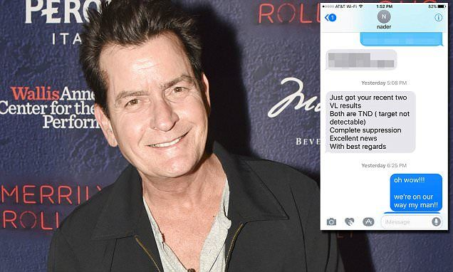 """#CHARLIE #SHEEN #HIV """"FULLY SUPPRESSED""""..."""