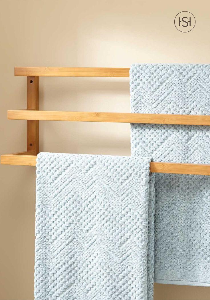 17 meilleures id es propos de porte serviettes en forme - Echelle en bois porte serviette ...