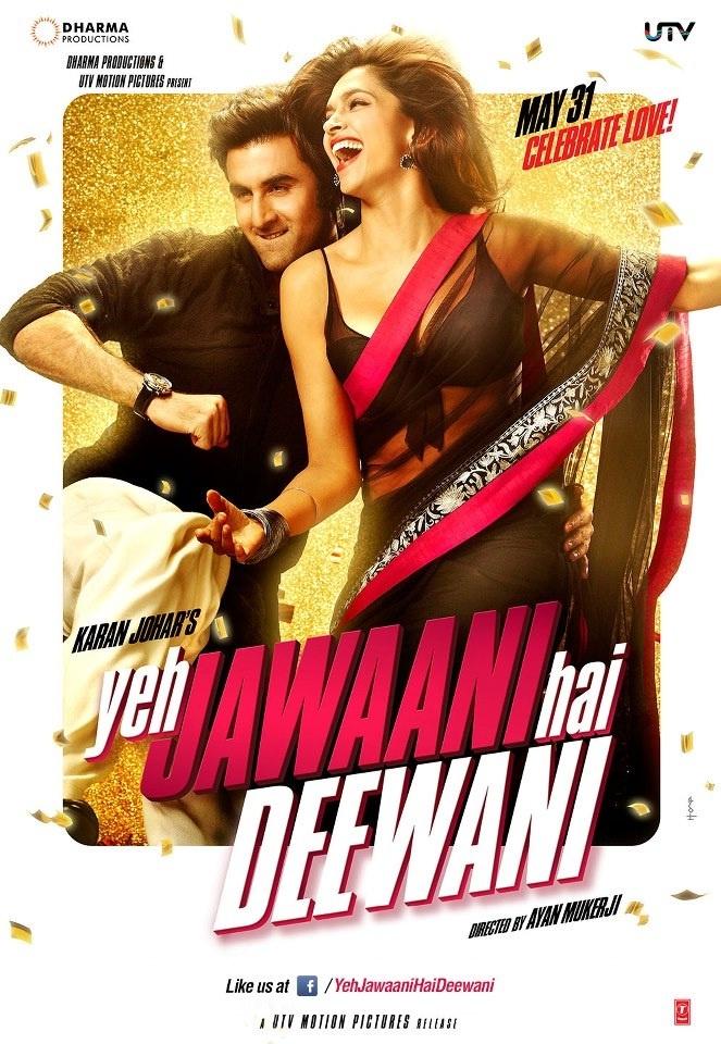 "[VIDEO] Ranbir Kapoor and Deepika Padukone Starrer ""YEH JAWANI HAI DEEWANI"" Theatrical Trailer."