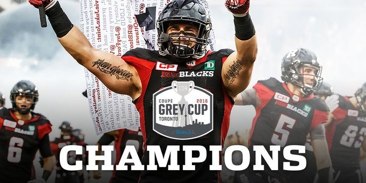 Started from the bottom.  #GreyCupChamps