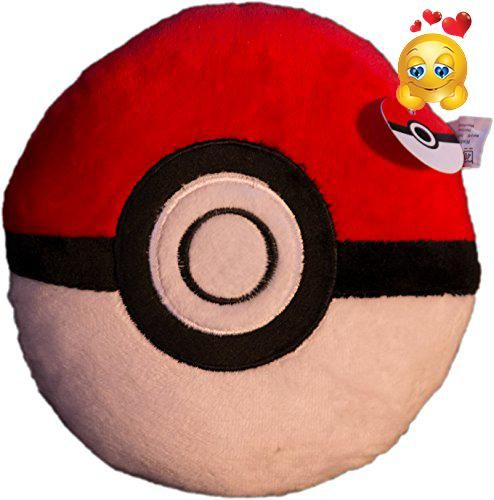 #sale #Pokepillows® Pokeball Soft Stuffed Throw Pillow The Pokeball Pokepillow is the perfect companion for your Pokemon GO journey. Large size is perfect for de...