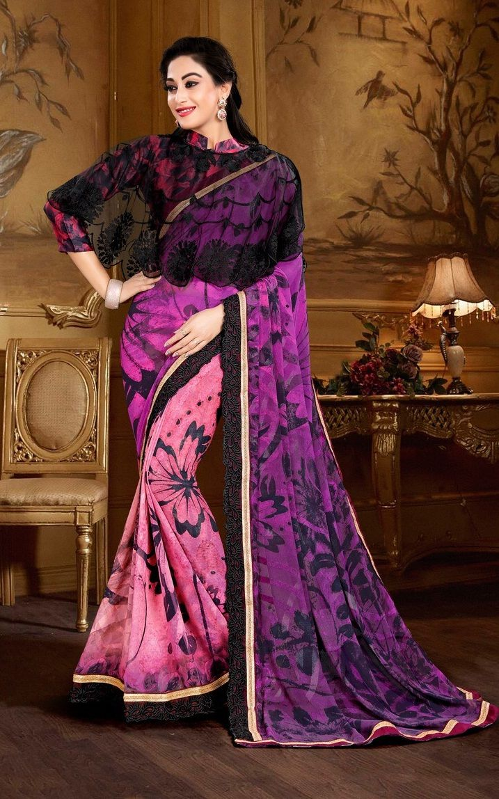 b943ebe593875 MANIYAR NAZAKAT PARTY WEAR SAREE WITH PONCHO BLOUSE CONCEPT WHOLESALE RATE   IndianClothStore  Georgette  anarkalisuit  pantstylesuit  bollywoodsuit   online ...