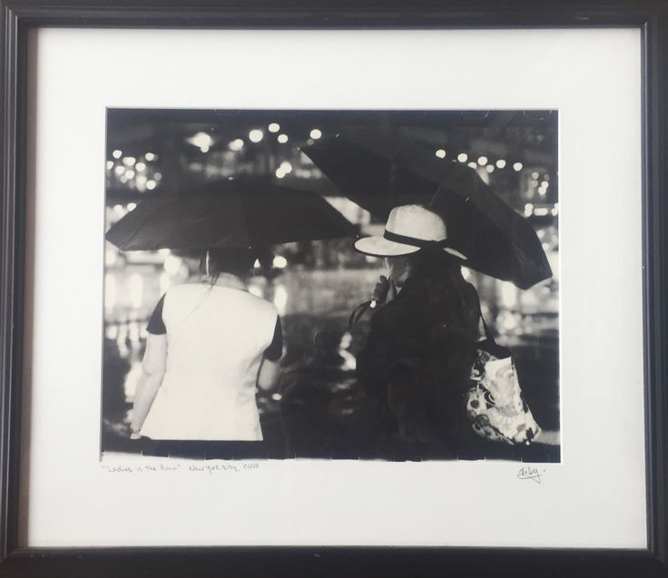 Artwork of the day! Virginia Delgado, Ladies in Rain, Silver Gelatin Prints #artworkoftheday #photography #filmphotgraphy #filmcamera #darkroom #silvergelatinprint #localartists #shoplocal #littlerhody #bristolri #celebratelocal #401love
