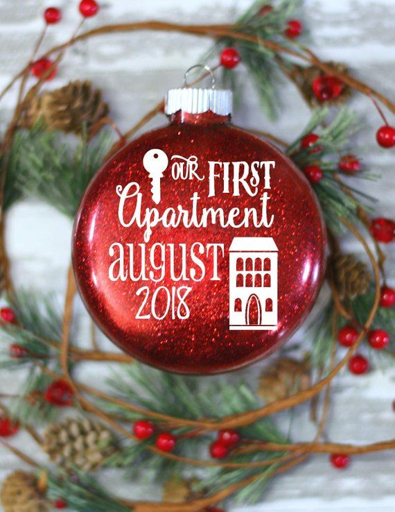 First Apartment Gift Cool Ideas Gl Christmas Ornament For Friends Id Products Pinterest Gifts And