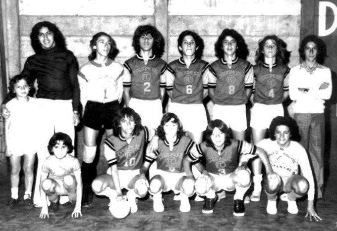 Caramuru Futsal - 1973/74  Na recem inaugurada Cancha Tagliari, foto mostra primeiro time de futsal com o iniciamos nossa história pela futsal mourãoense e paranaense. Velhos, verdadeiros e eternos amigos!
