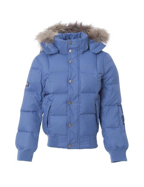 VER de TERRE | Featherlight jacket w/fur