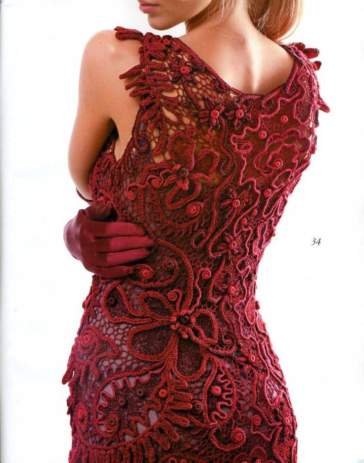 FRESH Zhurnal MOD Fashion Magazine 562 Russian knit and crochet patterns