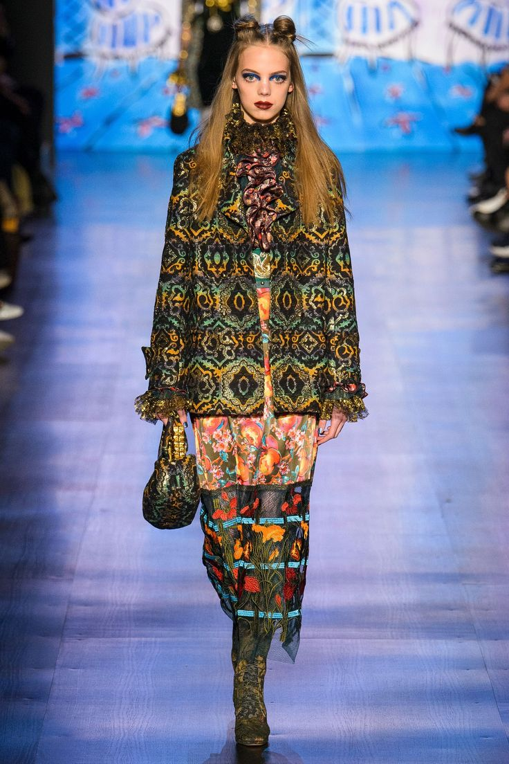 Anna Sui Autumn/Winter 2017 Ready to Wear Collection
