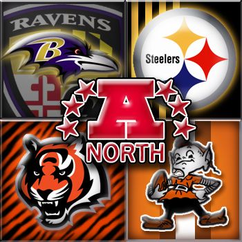 AFC North - Ravens, Steelers, Bengals & Browns - http://unadulteratedsports.com/wp-content/uploads/2011/11/AFC-North.jpg