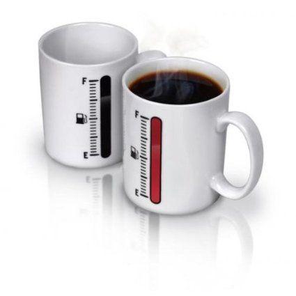 Magic Mug buat kamu yang creative - Lampunya menyala setelah terkena air panas :) Harga hanya Rp 86.000